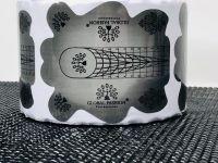 ФОРМЫ для ногтей широкие 300 шт ГЛОБАЛ ФЭШН GF2020-03