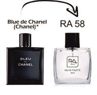 Туалетная вода мужская RA58 аналог Blue De - Chanel