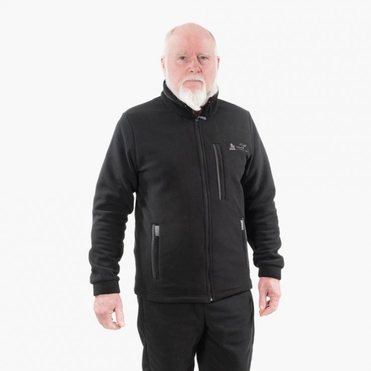 Куртка флисовая Айган Black fleece 280 г/м2