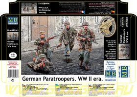 Фигуры Немецкие десантники. Период Второй мировой войны