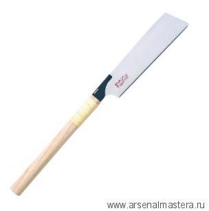 Пила безобушковая тонкая Z-Saw Kataba Cross H-225 225 мм 21 tp, 0,4 мм деревянная рукоять 15018 М00017233