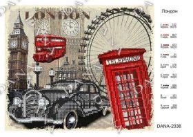 Dana DANA-2336. Лондон схема для вышивки бисером купить оптом в магазине Золотая Игла