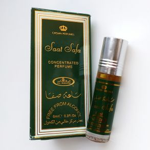 Арабские масляные духи Saat Safa | Саат Сафа | 6 мл | Al-Rehab | Унисекс
