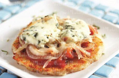 Оладьи а-ля пицца