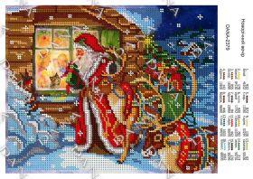 Dana DANA-2379. Новогодний Вечер схема для вышивки бисером купить оптом в магазине Золотая Игла