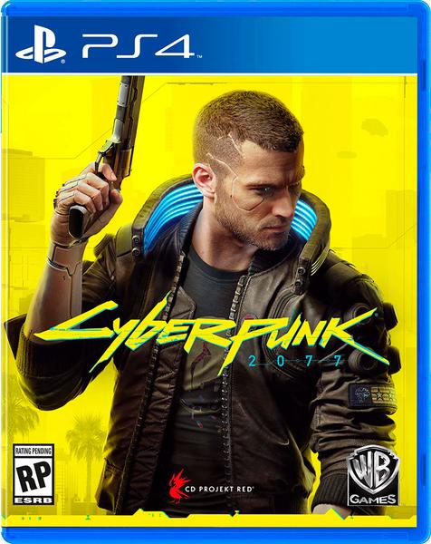 Cyberpunk 2077 PS4, русская версия