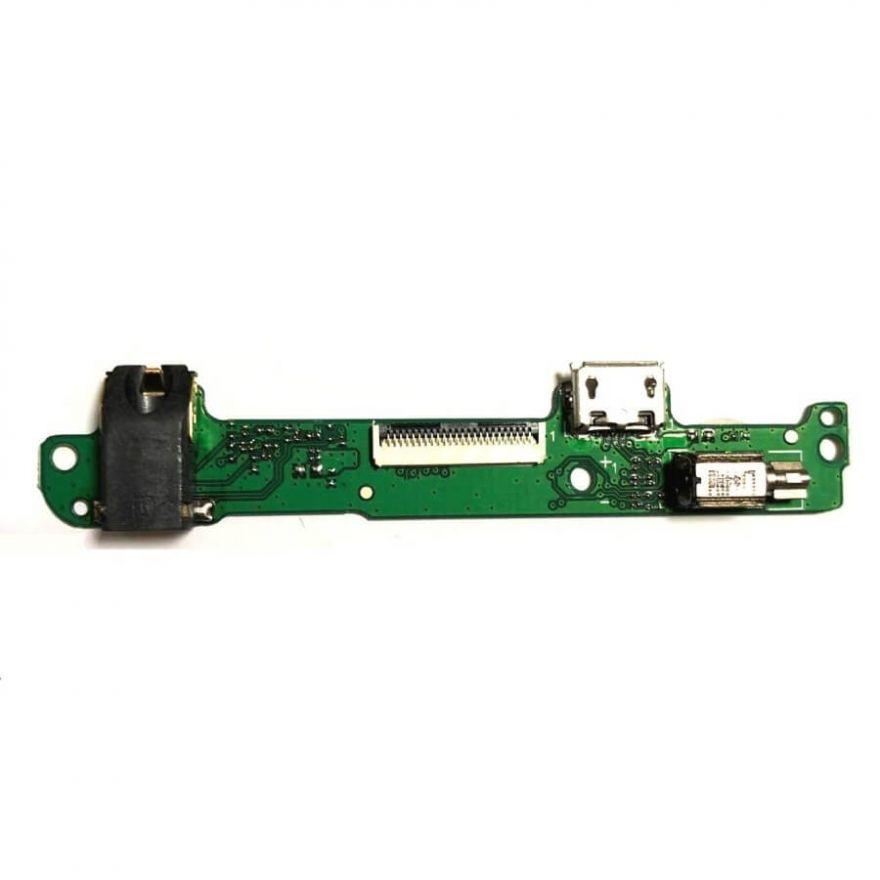 Нижняя плата с разъемом зарядки, виброзвонком и аудиоразъемом для Huawei Mediapad 10 Link