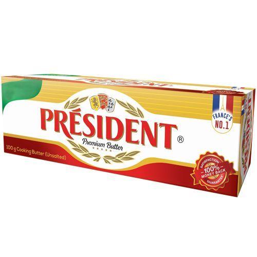 Kərə yağı President 1 kg