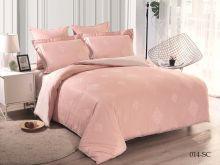 Комплект постельного белья Лен Soft cotton жаккард    2-спальный Арт.21/014-SC