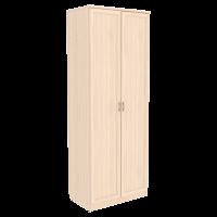 Шкаф для белья со штангой арт. 100 (молочный дуб)