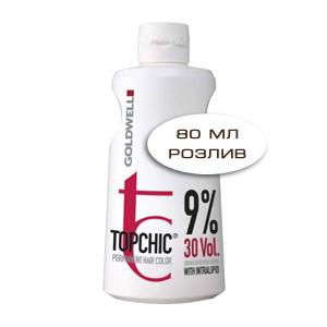 Goldwell Topchic Lotion - Оксид для волос 9% 80 мл (розлив)