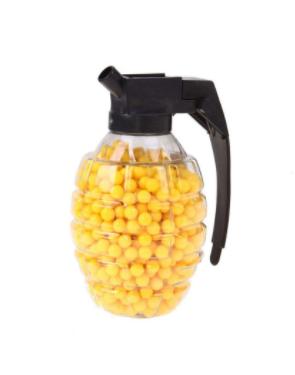 Пластиковые пульки-шарики  для игрушечного оружия 6 мм/500 шт
