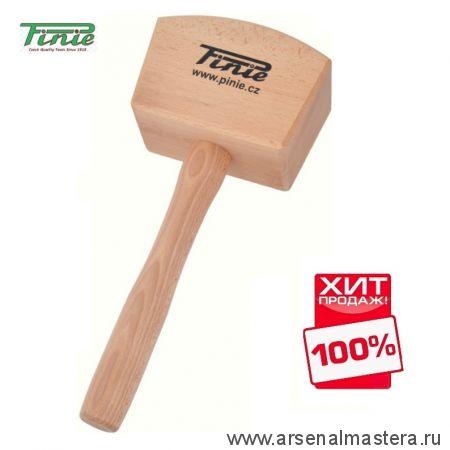 Киянка деревянная квадратная 105х65 мм PINIE 52-1 ХИТ!