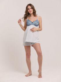 Пижама для беременных и кормящих 1-НМП 27828