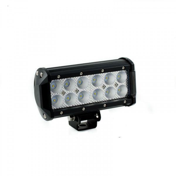 Двухрядная светодиодная LED балка 36W CREE (3W) (1 шт.)
