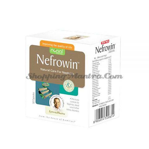 Нефровин (100 капсул) Нупал Аюрведа для лечения нефрита | Nupal Ayurveda Nefrowin Capsules Pack of 2