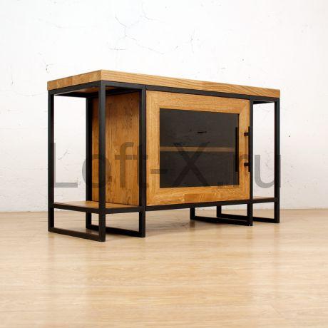 Тумба под телевизор в стиле лофт - Nasyr Compact