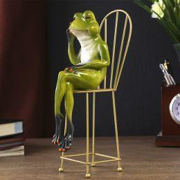 "Сувенир ""Лягушка на стуле"""