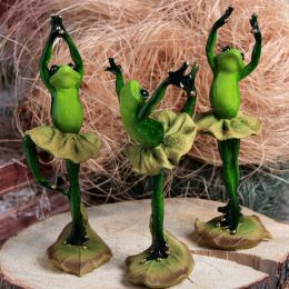 Сувенир «Лягушка балерина»