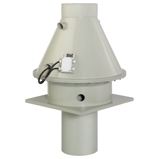 Вентилятор для агрессивных сред DVP 250D2-4
