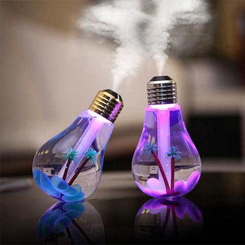 Увлажнитель воздуха Лампочка с LED подсветкой
