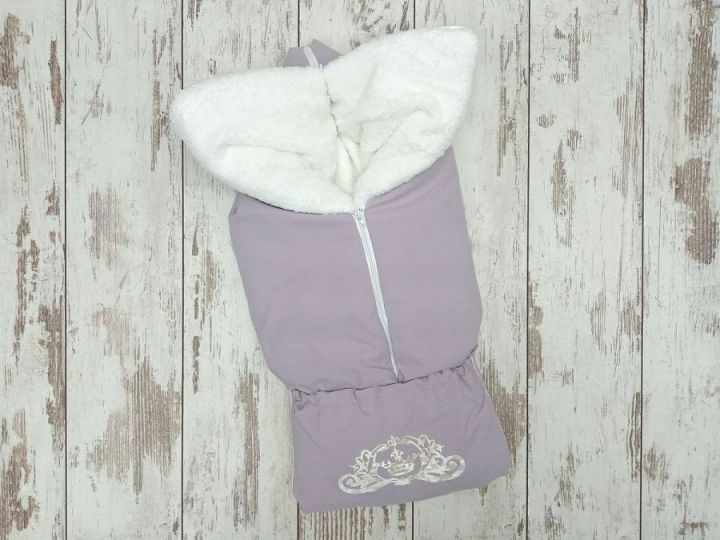 Одеяло-трансформер на молнии, мемори-мех, 85х85, цвет серый FC-OD090(b)(m)-ME