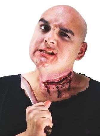 Наклейка Перерезанное горло