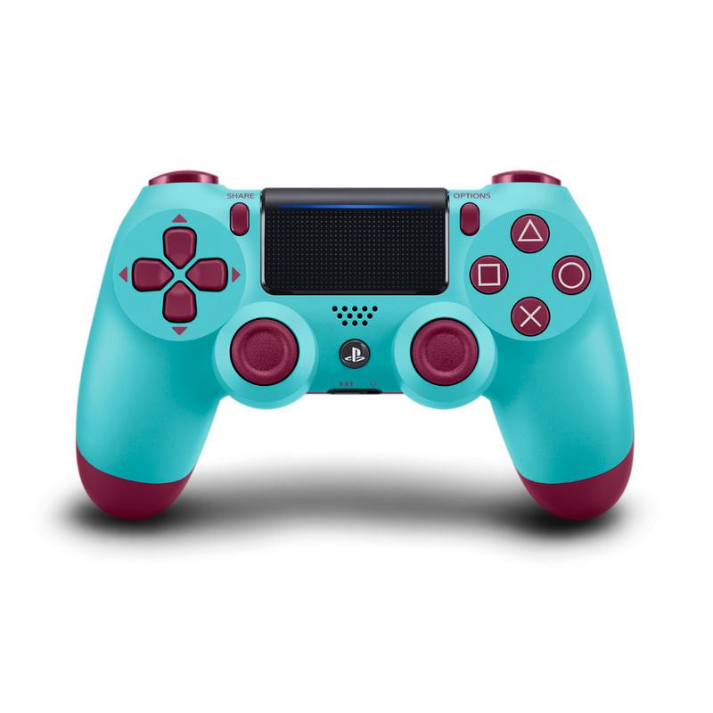 Геймпад Sony DualShock 4 V2 ( CUH-ZCT2E ) Berry Blue Ежевичная глазурь