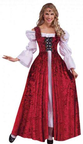 Платье Средневековое на шнуровке