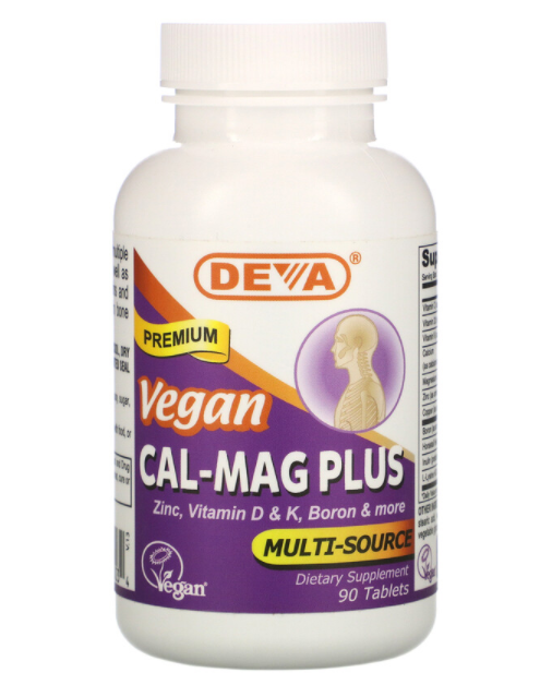 Deva Cal-Mag Plus 90 табл