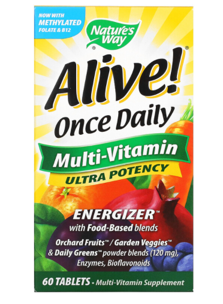 Nature's Way Alive Once Daily 60 табл