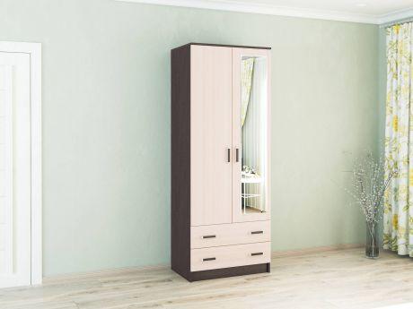 Шкаф комбинированный Лагуна-08 с зеркалом