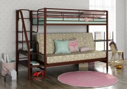 Двухъярусная кровать с диваном Мадлен-3