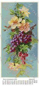 Dana DANA-5125. Панно с Виноградной Веткой схема для вышивки бисером купить оптом в магазине Золотая Игла