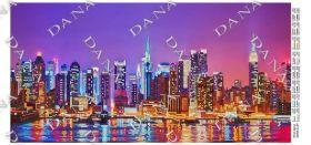 Dana DANA-5134. Ночные Огни схема для вышивки бисером купить оптом в магазине Золотая Игла