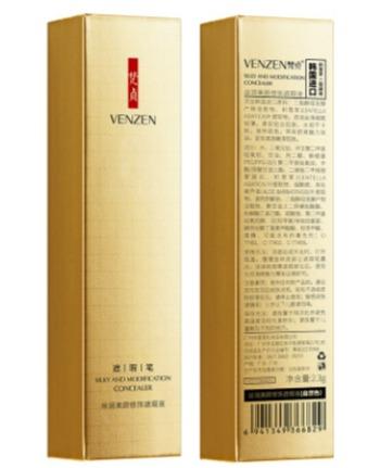 Стойкий консилер Venzen - натуральный цвет.(6829)