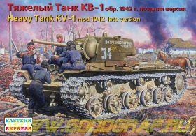 ЕЕ35086 Тяжелый танк КВ-1 обр. 1942 поздняя версия
