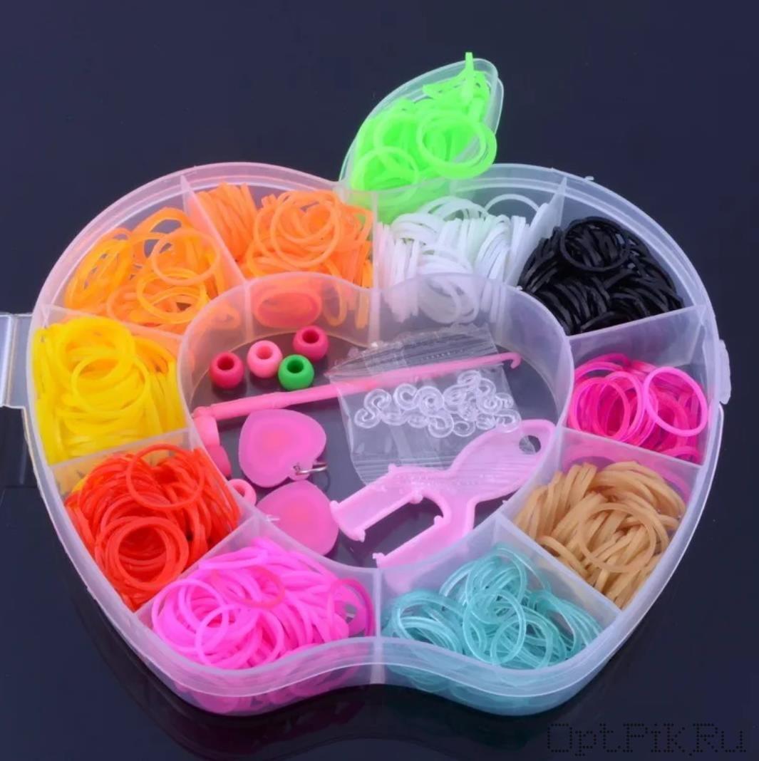 Набор резинок - Цветные твинки