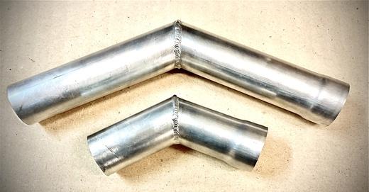 Уголок развальцованный из алюминиевой трубы для ТО