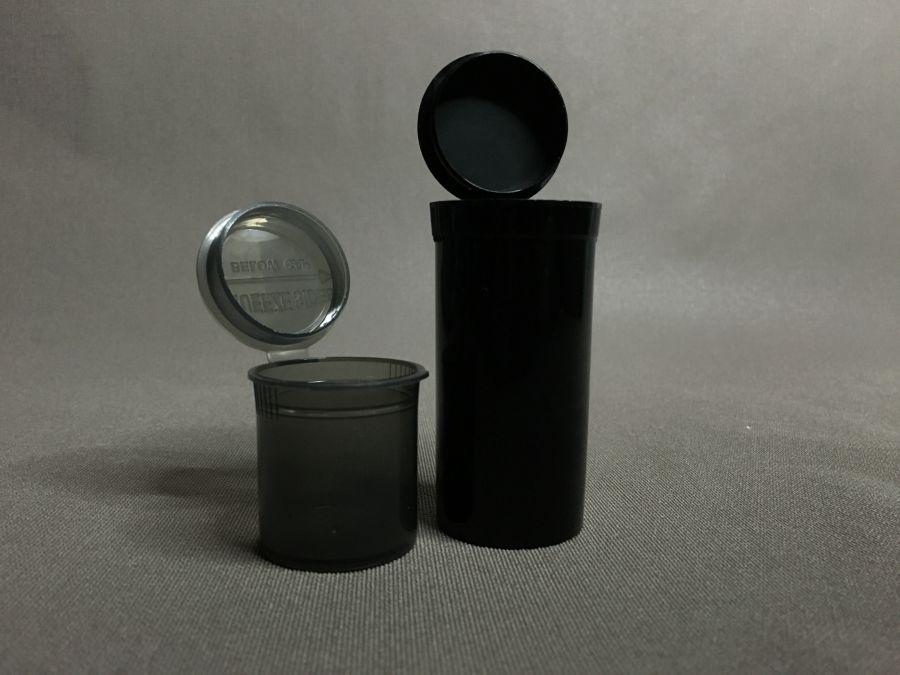 Герметичный контейнер Squeeze Open Vials Black