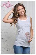 Футболка для беременных и кормящих мам Медвежата 15002
