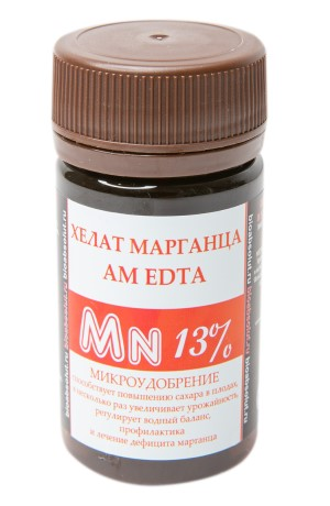 ХЕЛАТ МАРГАНЦА AM EDTA Mn 13% микроудобрение 50мл