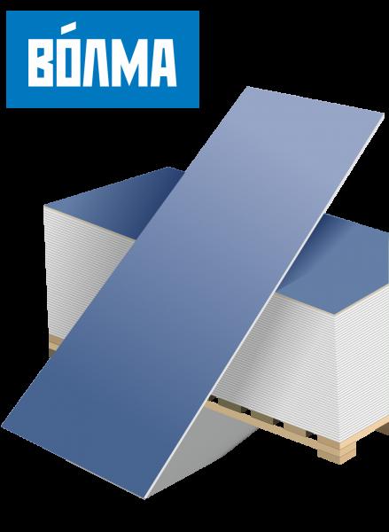 Гипсокартон усиленный для системы AcousticGyps, Волма 12,5х1200х2500
