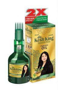 Масло для волос лечебное КЕШ КИНГ Kesh King 100 мл