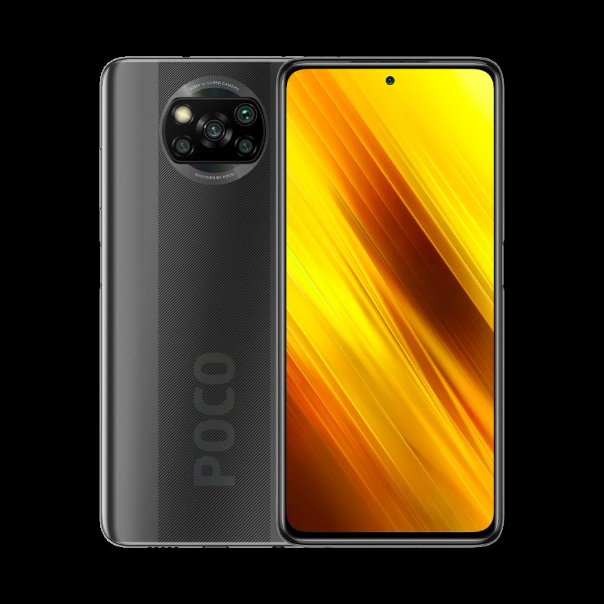 Смартфон Xiaomi Poco X3 NFC 6/128GB Серый