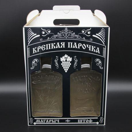 Набор КРЕПКАЯ ПАРОЧКА Магарыч и Штоф