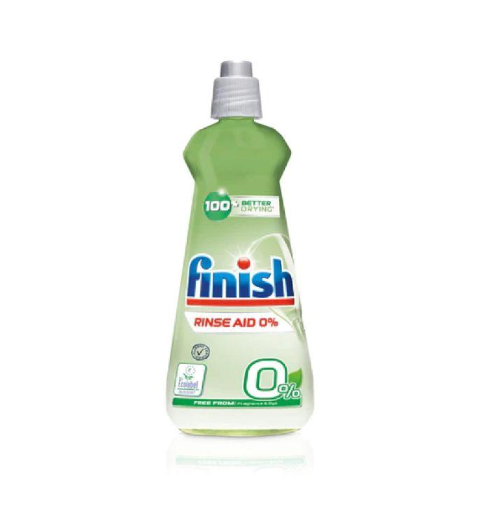 FINISH AIO MAX 0% 400 мл ополаскиватель
