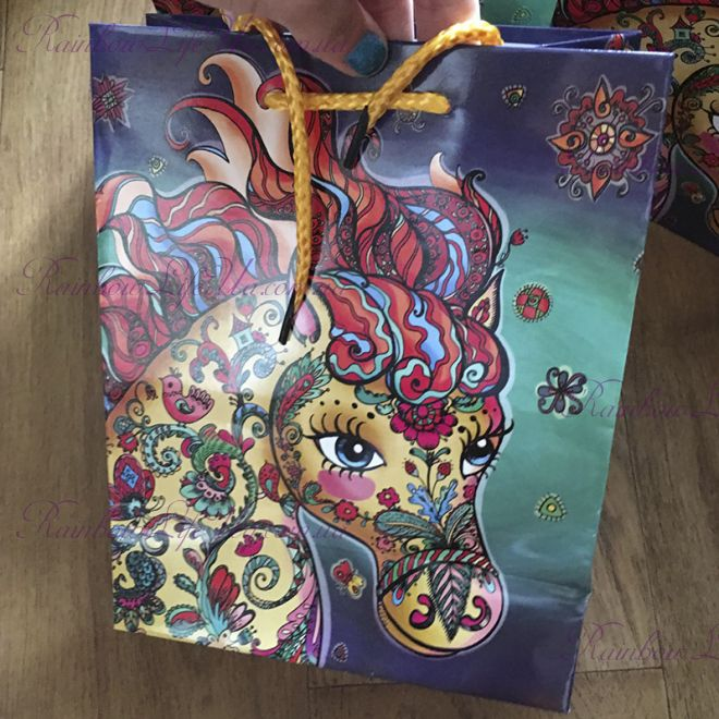 """Пакет подарочный """"Лошадка"""""""