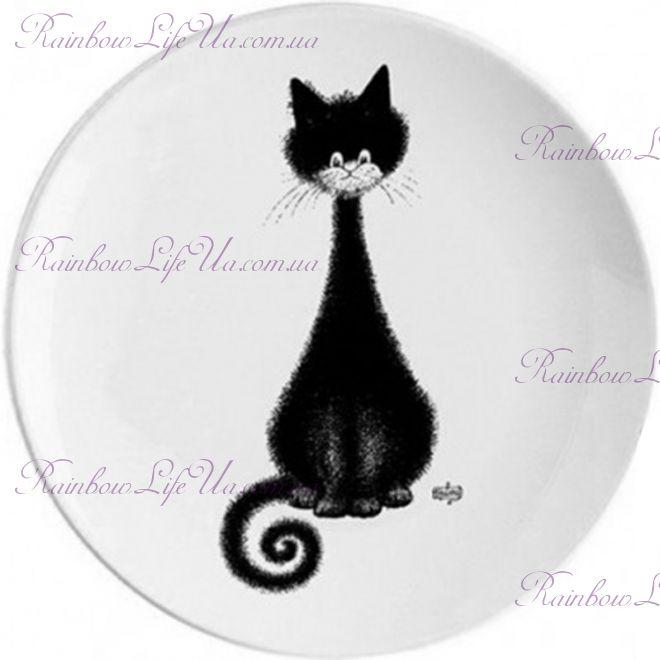 "Тарелка загадочная кошка ""Parastone"""