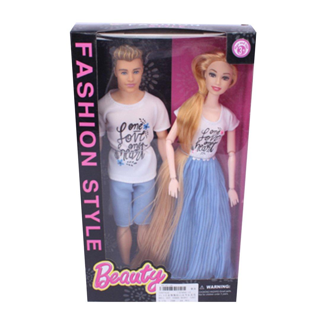 Игр. наб.  Счастливая семья , в компл. кукла 30см - 2шт.. кор.
